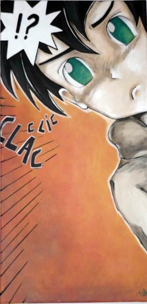 Le Manga. Dessins de Karen Delage