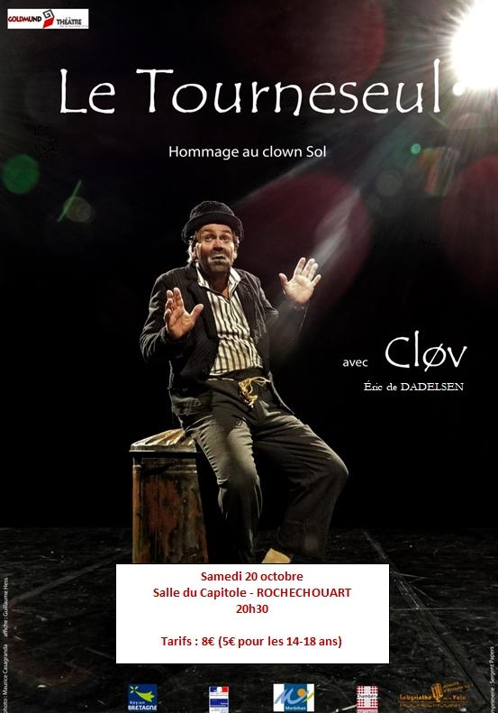 Le Tourneseul. Hommage au clown Sol