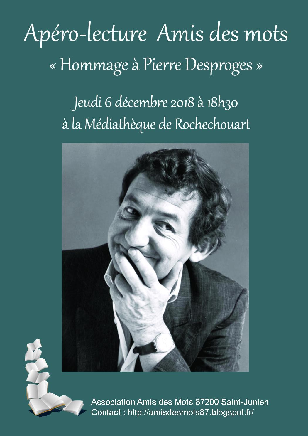 Hommage à Pierre Desproges
