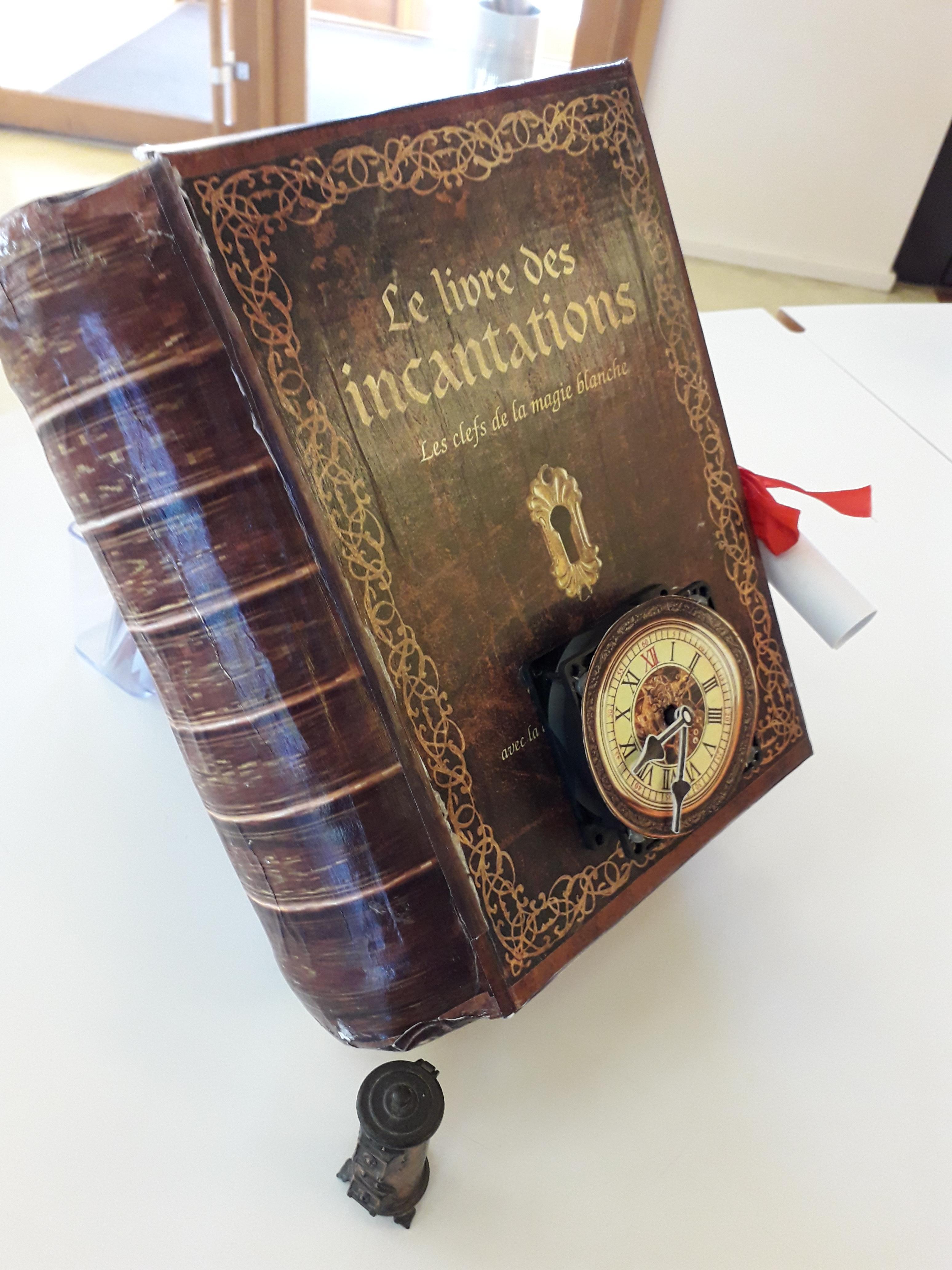 Un manuscrit secret retrouvé à la médiathèque...