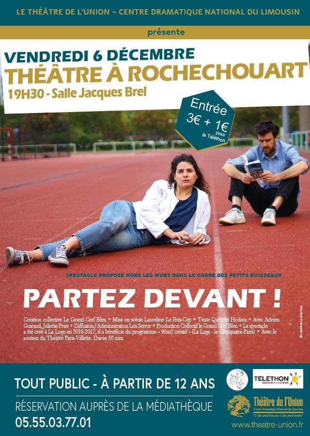 Théâtre à Rochechouart